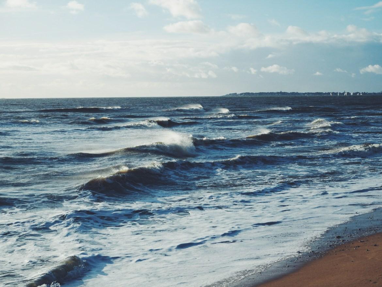 plage vagues pornichet