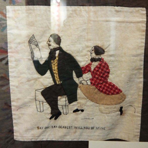 quilt - american museum in britain