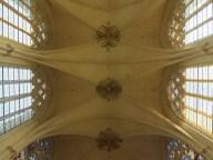 chapel ceiling at chateau de vincennes