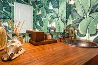 Tropical Bathroom Design for Summer