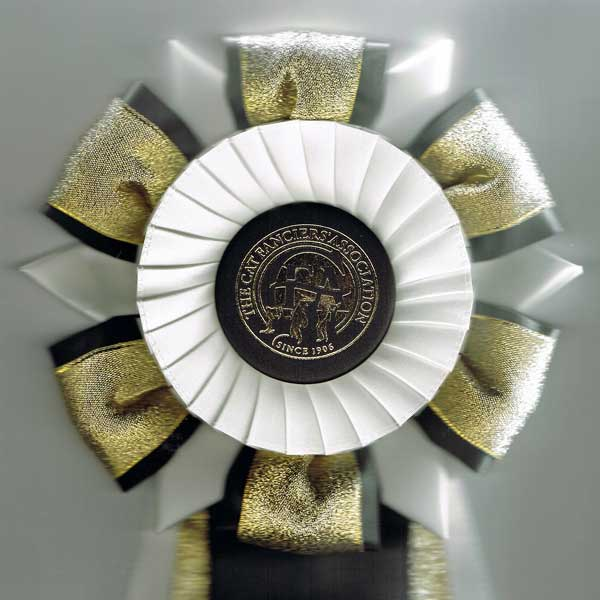 Cici's 3rd place ribbon, United States NW Region 2013-2014