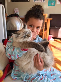 17-week-old Nikau with Maddie, 15 Aug 2017