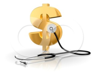 Dollar Sign with Stethescope
