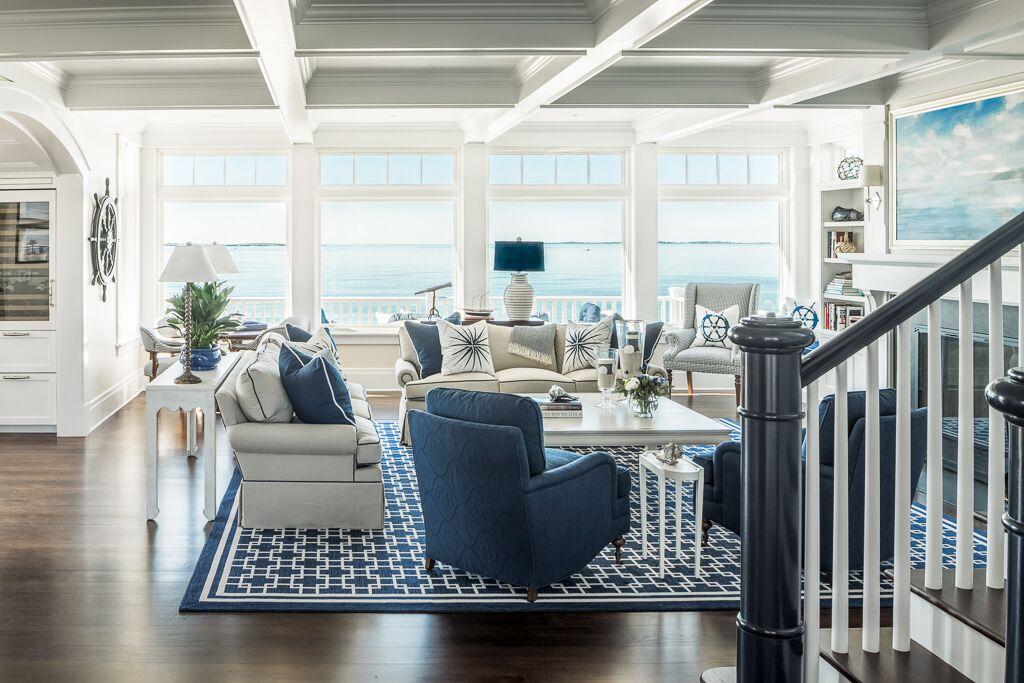 Hurlbutt Designs Living Room Interior Design