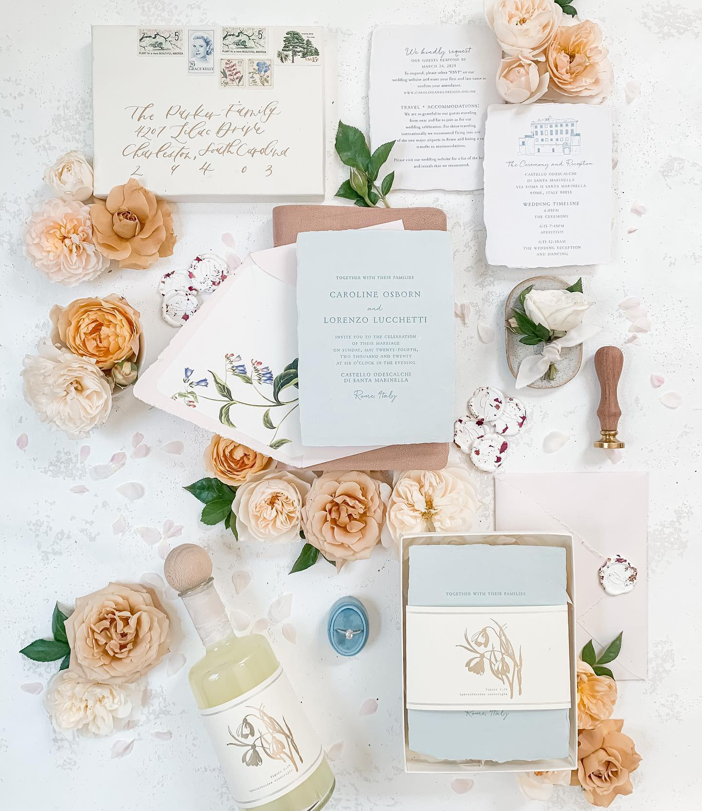 Custom Wedding Invitation Portsmouth NH