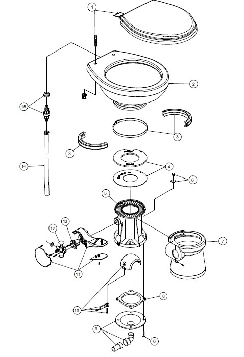 Water Tank Flange Mounting Diagram, Water, Free Engine