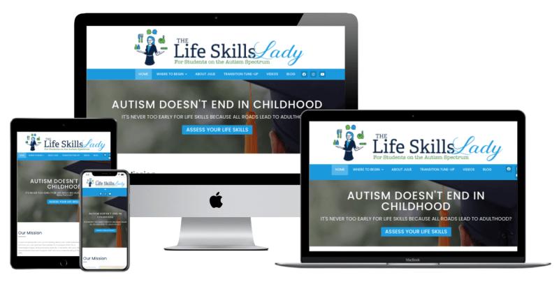 Life Skills Lady Website