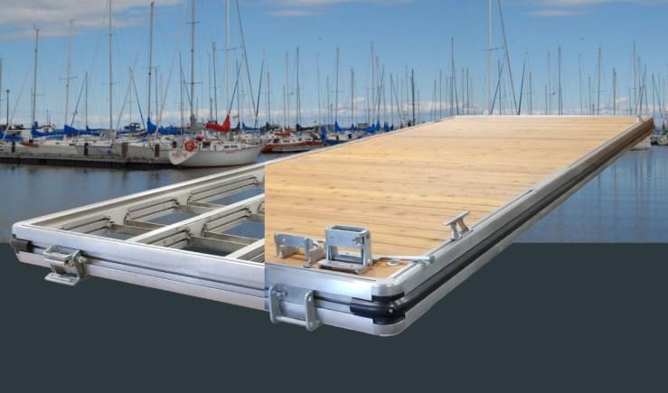 Seaco L6 Modular Aluminum Marina Dock System