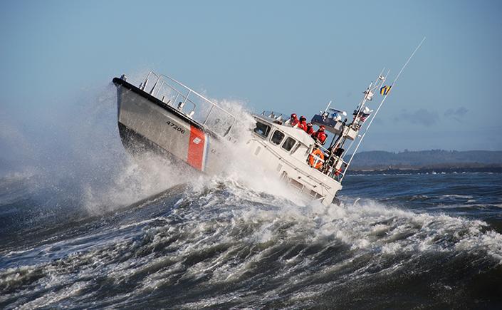 Maritime rescue boat