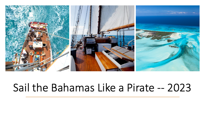 Video update for Bahamas sail.