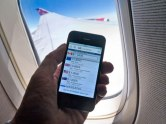 Smart Phone on Flight