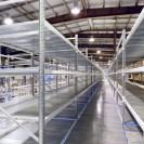 Empty Warehouse Shelves