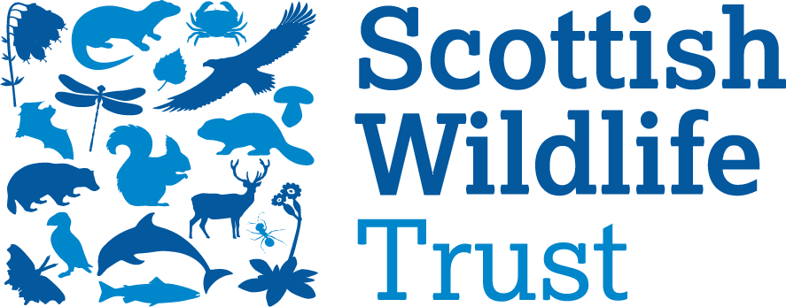 Scottish Wildlife Trust logo in blue