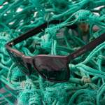 Waterhaul sunglasses in fishing net
