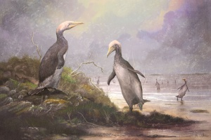 ancient monster penguins