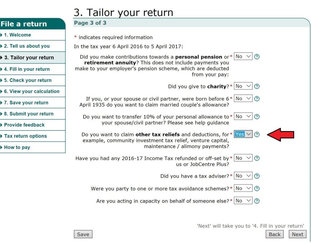Hmrc Claim Tax Back >> Self Assessment Guide Sed Seafarers Earnings Deduction
