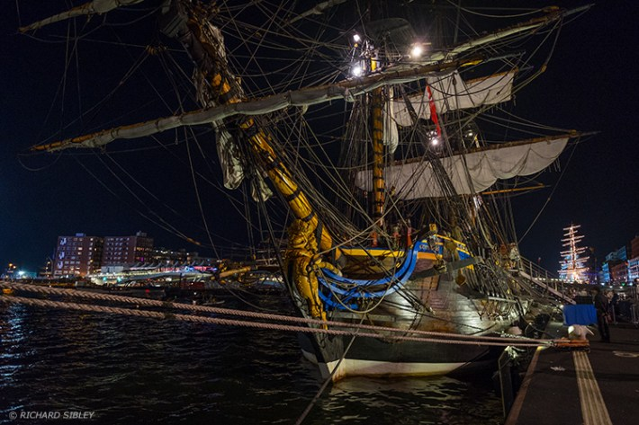 Our last night at Sail Amsterdam 2015, departure for Dover tomorrow