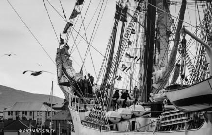 Gloria, lerwick, tall ships race