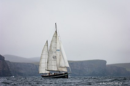 Norwegian Ketch, Prolific, Lerwick 2011
