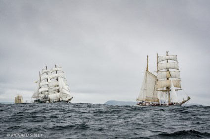 Lerwick race start,gloria,pogoria