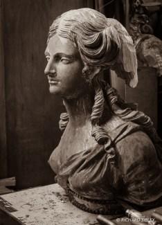 Andy Peters,Maritima Wood Carving,HMS Arethusa 1849