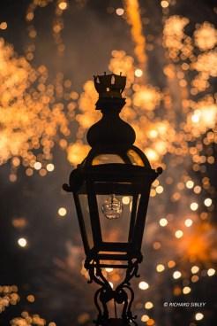Firework display - Royal Greenwich 2014