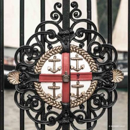 Gate detail - Royal Greenwich