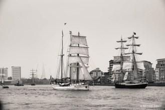 Dutch vessels Loth Lorien and Mercedes