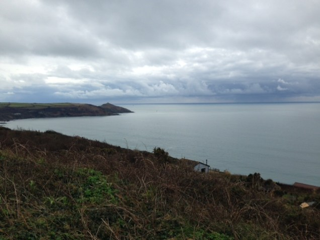 looking east to Rame Head