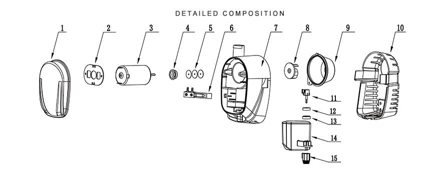 Seaflo Bilge Pump Auto 12V 1100GPH