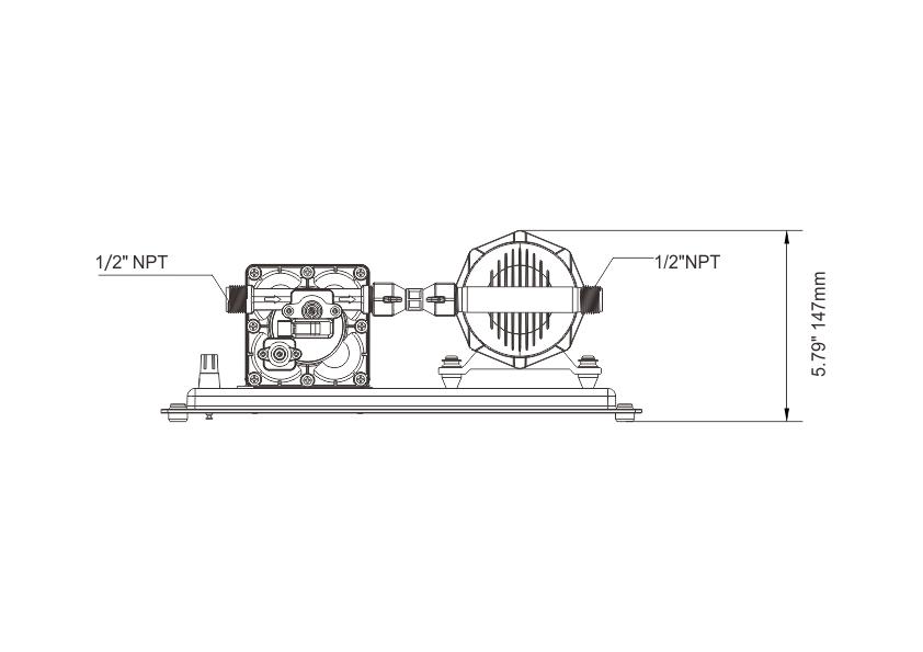 seaflo 42 Series Water Pressure System