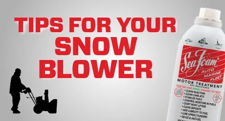 Sea Foam Official Video Tips For Your Snow Blower
