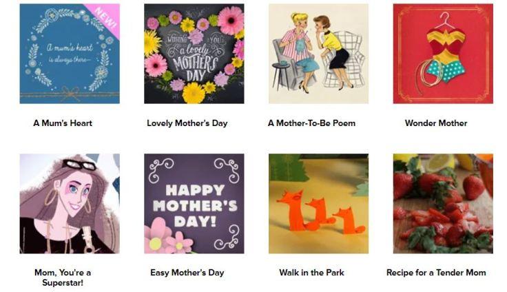 mom cards