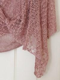 easy crochet shawl pattern | Sea Green and Sapphire