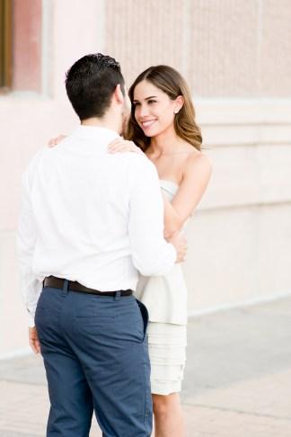 Ana Lucia & Sebastian's Downtown Sweetheart Session