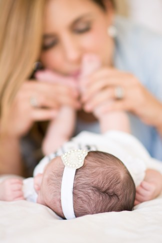 Denisse & Maria Andrea: Mommy & Me Newborn Lifestyle Session