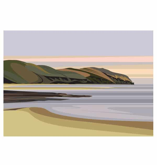 Conwy Mountain from Deganwy - Landscape
