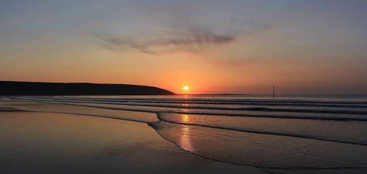 Filey Bay Sunrise 39 - Large Landscape