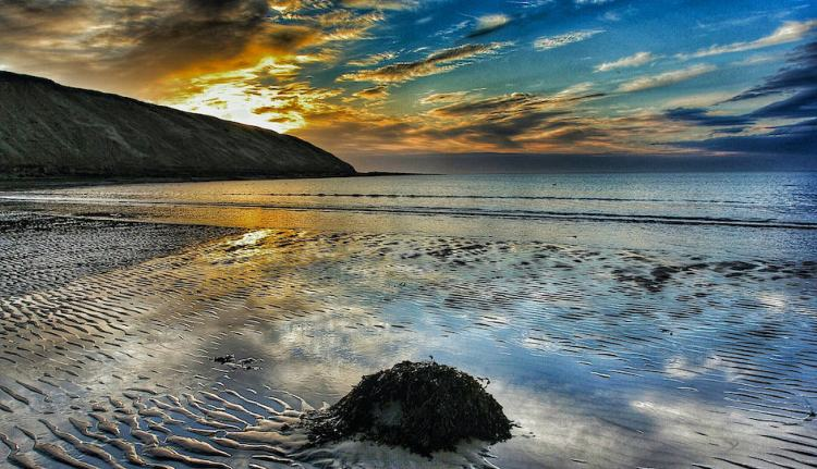 Filey Dawn, Arndale Sands - Landscape
