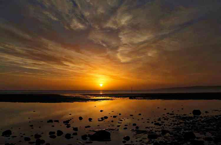 Filey Beach Sunrise 58 - Landscape