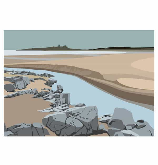 Towards Dunstanburgh castle - Landscape
