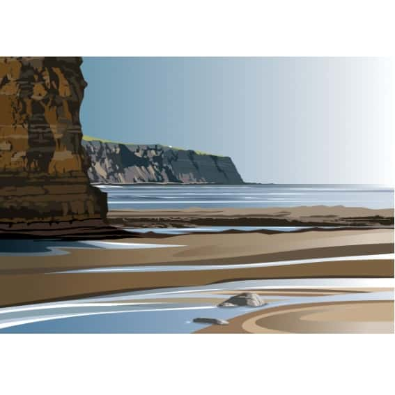 Boggle Hole to Ness Point - Landscape