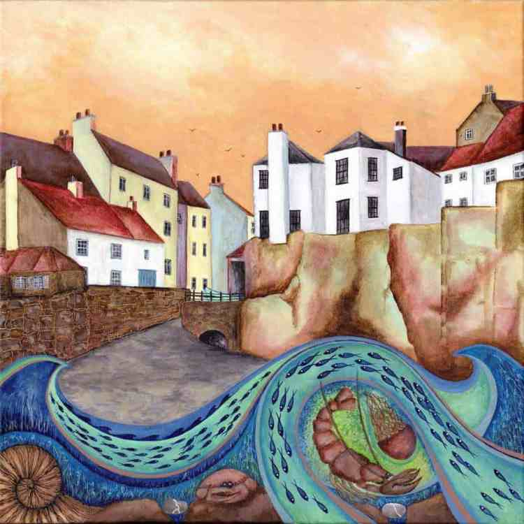 SUNSET OVER ROBIN HOODS BAY - Limited Edition Print