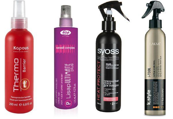 Спрей-термозащита для осветленных волос