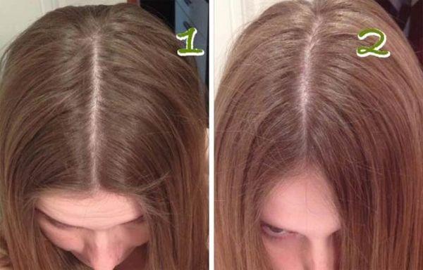 до и после осветления