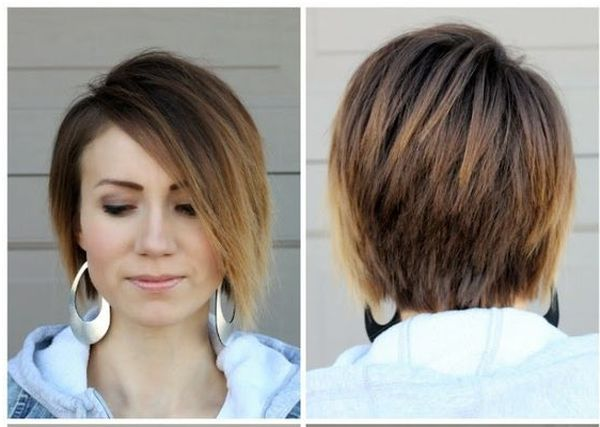 Hårfärgning för kort mörkt hår