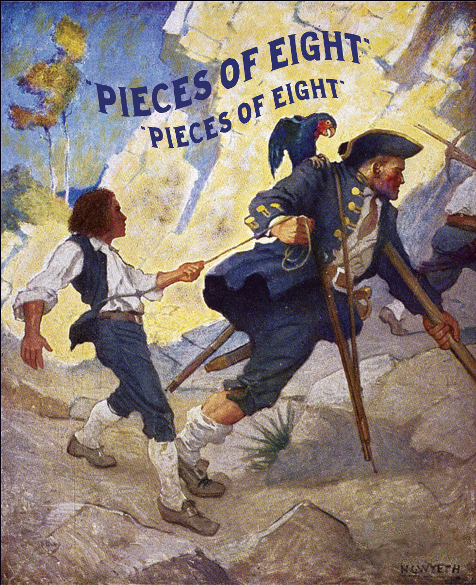 Pieces Of Eight : pieces, eight, Pieces, Eight, National, Maritime, Historical, Society