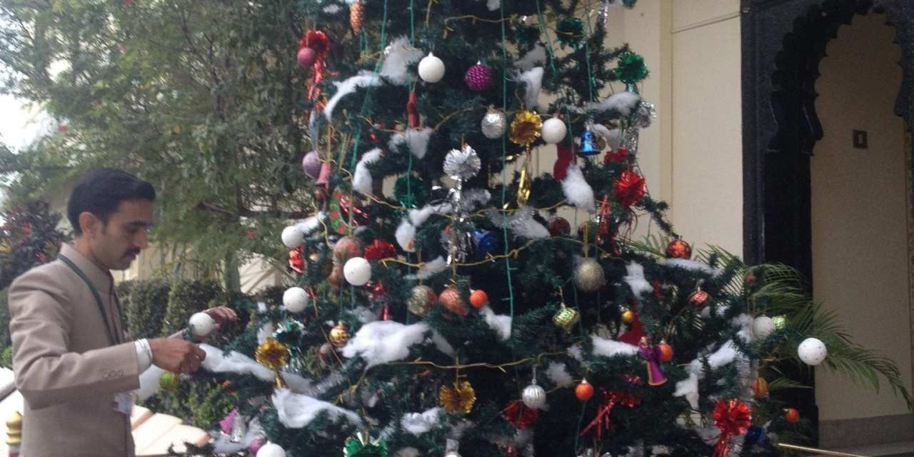 Christmas Eve, Udaipur, posts 1 of 2