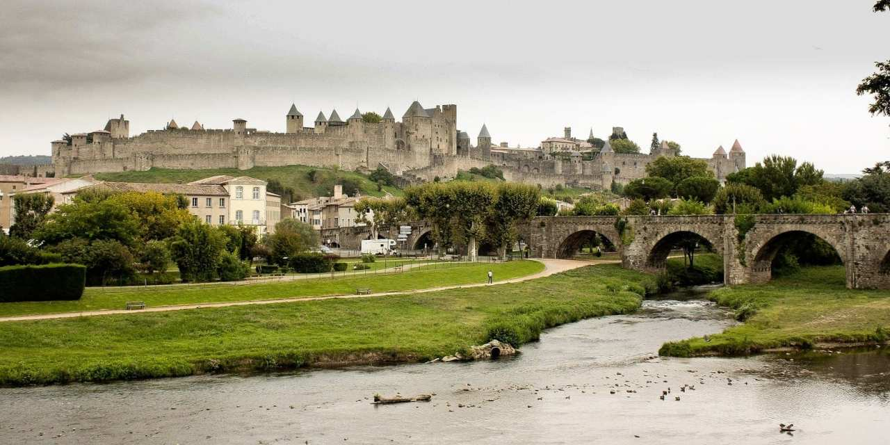 Carcassonne is Like a Castle from a Disney Movie, South of France