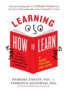 Learning How To Learn, an excerpt by Barbara Oakley PhD, 2018 Secular Homeschool Convention